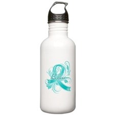 Ovarian Cancer Believe Water Bottle