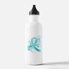 Ovarian Cancer Believe Water Bottle