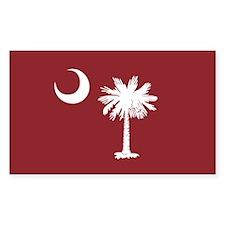 South Carolina Palmetto Moom Flag Decal