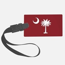 South Carolina Palmetto Moom Flag Luggage Tag