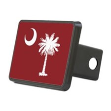 South Carolina Palmetto Moom Flag Hitch Cover