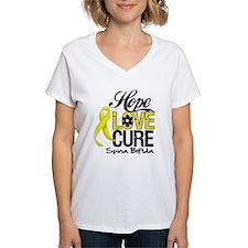 Hope Love Cure Spina Bifida Shirt