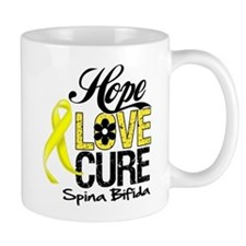 Hope Love Cure Spina Bifida Mug