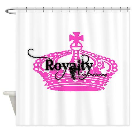 RoyaltyInTraining Shower Curtain