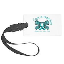 Ovarian Cancer I Am A Survivor Luggage Tag