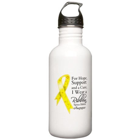 Hope Cure Spina Bifida Stainless Water Bottle 1.0L