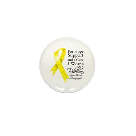 Hope Cure Spina Bifida Mini Button (100 pack)