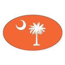 SC Palmetto Moon Decal