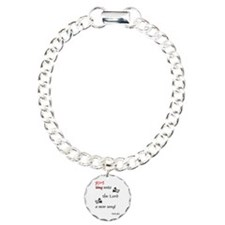 Ring Unto the Lord Charm Bracelet, One Charm