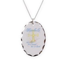 Little Bit of Heaven Necklace Oval Charm
