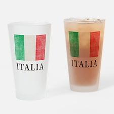 Vintage Italia Drinking Glass