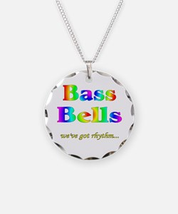 Bass Bells Necklace Circle Charm