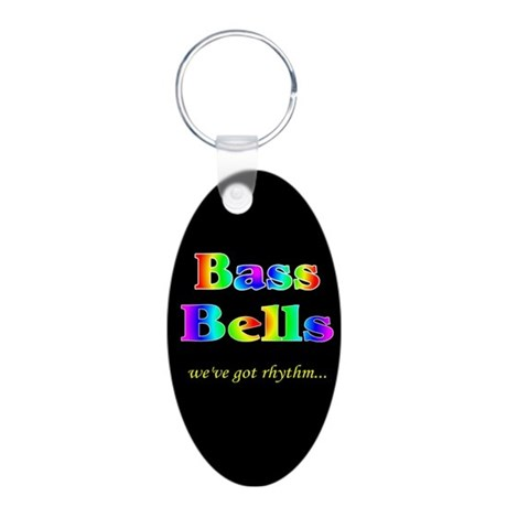 bass bells big transparent.png Aluminum Oval Keych