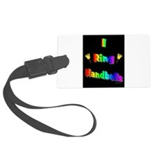 Funny Handbell Luggage Tag