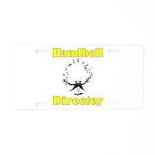 Handbell Director big.jpg Aluminum License Plate