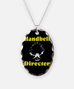 Handbell Necklace Oval Charm