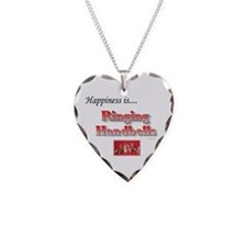 Happiness Is... Necklace Heart Charm