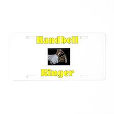Handbell Ringer Aluminum License Plate