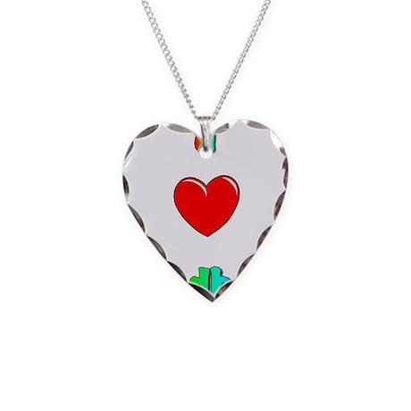 I love handbells big.jpg Necklace Heart Charm