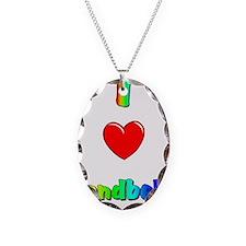 I love handbells big.jpg Necklace Oval Charm