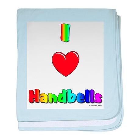 I love handbells big.jpg baby blanket