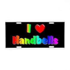Handbell Aluminum License Plate