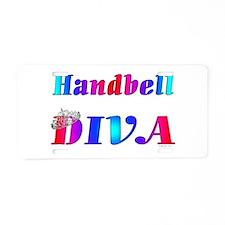 Handbell Diva.jpg Aluminum License Plate