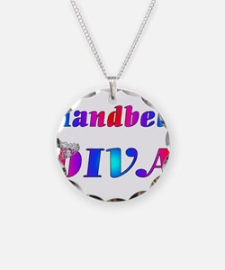Handbell Diva.jpg Necklace Circle Charm