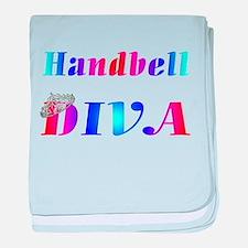 Unique Handbell baby blanket