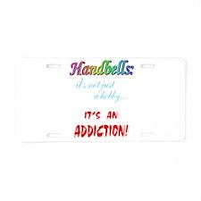 addiction Aluminum License Plate