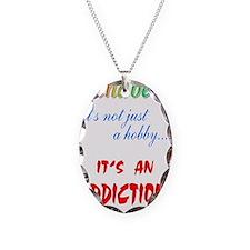 addiction Necklace Oval Charm