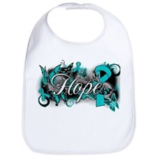 Ovarian Cancer Hope Garden Ribbon Bib