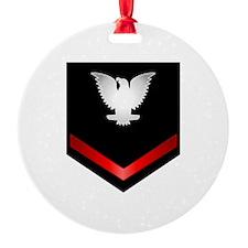 Navy PO3 Ornament