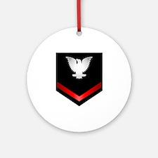 Navy PO3 Ornament (Round)