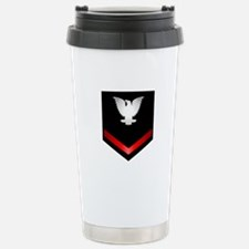 Navy PO3 Travel Mug