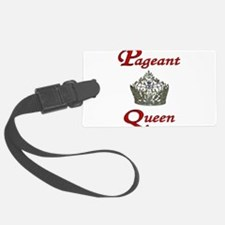 pageant queen tall white.jpg Luggage Tag