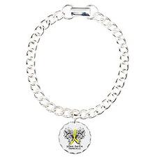 Spina Bifida Butterfly Charm Bracelet, One Charm