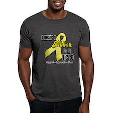 I Wear a Ribbon Spina Bifida T-Shirt