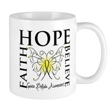 Hope Faith Spina Bifida Mug