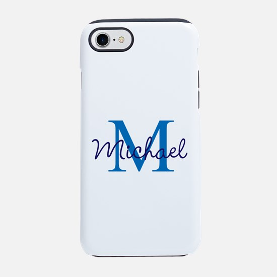Personalize Initials and Name iPhone 7 Tough Case