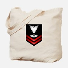 Navy PO2 Air Traffic Control Tote Bag