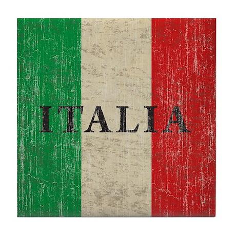 Vintage Italia Tile Coaster