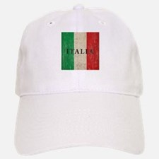 Vintage Italia Baseball Baseball Cap