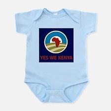 Yes We Kenya Infant Bodysuit