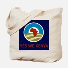 Yes We Kenya Tote Bag