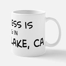 Shasta Lake - Happiness Mug