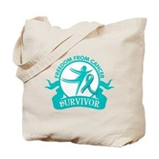 Freedom From Ovarian Cancer Shirts Tote Bag