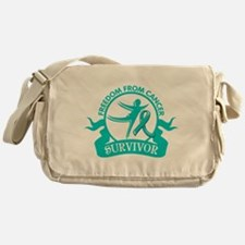 Freedom From Ovarian Cancer Shirts Messenger Bag