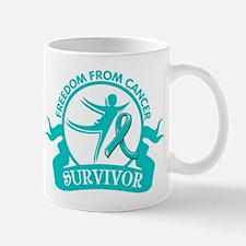 Freedom From Ovarian Cancer Shirts Mug
