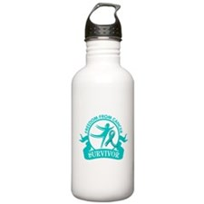 Freedom From Ovarian Cancer Shirts Sports Water Bottle
